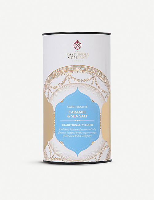 THE EAST INDIA COMPANY Sea Salt & Caramel biscuits 150g