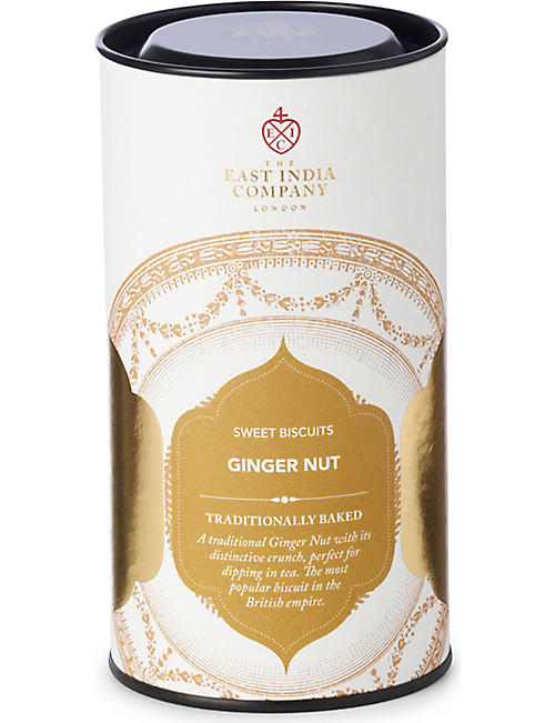 THE EAST INDIA COMPANY Ginger Nut sweet biscuits