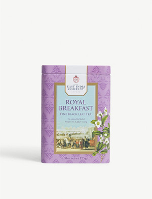 THE EAST INDIA COMPANY Royal Breakfast black loose leaf tea 125g