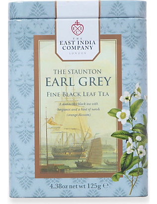 THE EAST INDIA COMPANY: The Staunton Earl Grey loose leaf tea 125g