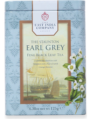 THE EAST INDIA COMPANY 丹顿伯爵灰色散茶叶茶叶125g