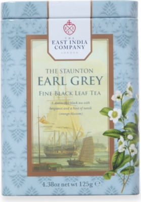 THE EAST INDIA COMPANY The Staunton Earl Grey loose leaf tea 125g