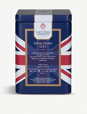 THE EAST INDIA COMPANY Royal Flush tea caddy