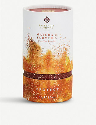 THE EAST INDIA COMPANY: Protect matcha and turmeric tea powder 50g