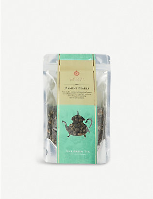 THE EAST INDIA COMPANY: Jasmine Pearls fine green tea 100g