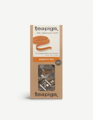 TEAPIGS Popcorn tea bags box of 15
