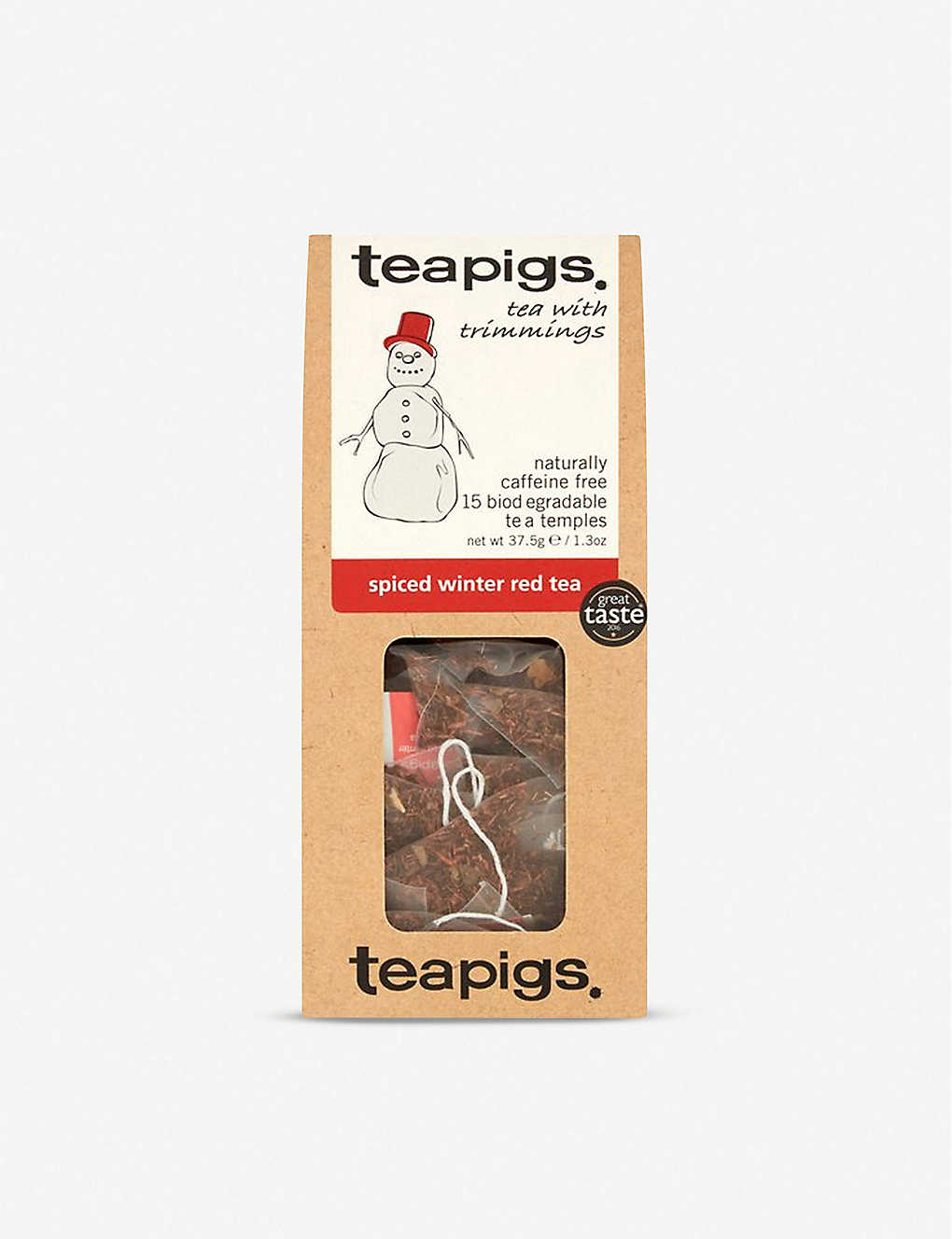TEAPIGS: Spiced Winter Red Tea bags 37.5g
