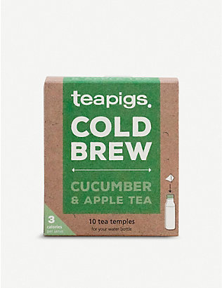 TEAPIGS: Cold Brew cucumber and apple tea 25g