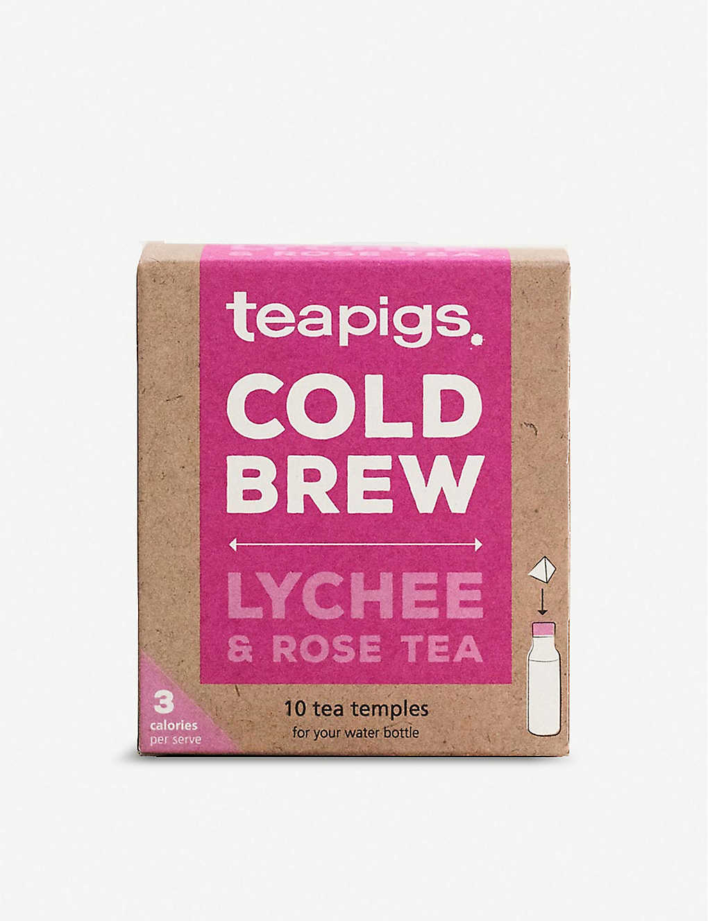 TEAPIGS: Cold Brew lychee and rose tea 25g