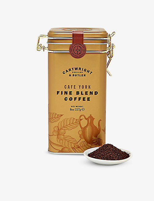 CARTWRIGHT & BUTLER: Cafe York Blend ground coffee 227g