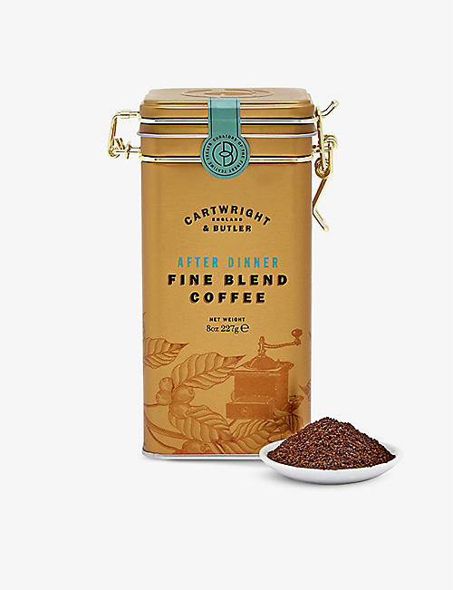 CARTWRIGHT & BUTLER: After Dinner Blend ground coffee 227g