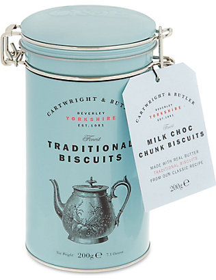 CARTWRIGHT & BUTLER: Choc Chunk Biscuits 200g