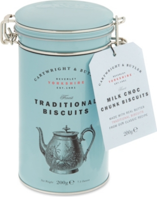 CARTWRIGHT & BUTLER Choc Chunk Biscuits 200g