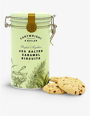 CARTWRIGHT & BUTLER: Salted caramel biscuits 200g