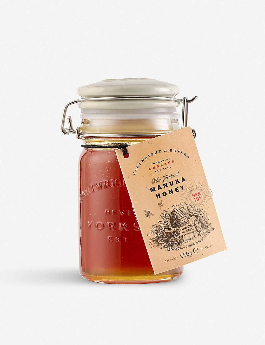 CARTWRIGHT & BUTLER: Manuka honey +10 280g
