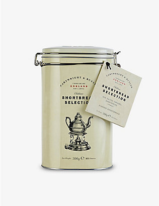 CARTWRIGHT & BUTLER: Sea salted caramel and almond shortbread selection 300g