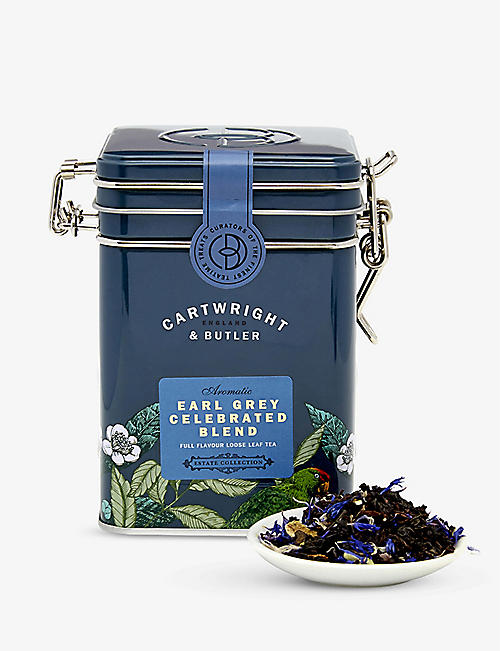 CARTWRIGHT & BUTLER Earl Grey Celebrated loose leaf tea blend 100g