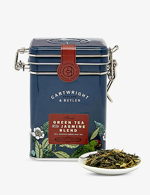 CARTWRIGHT & BUTLER Green tea with jasmine loose leaf tea blend 100g