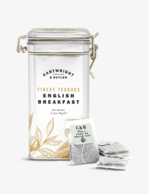 CARTWRIGHT & BUTLER English Breakfast tea bags box of 15