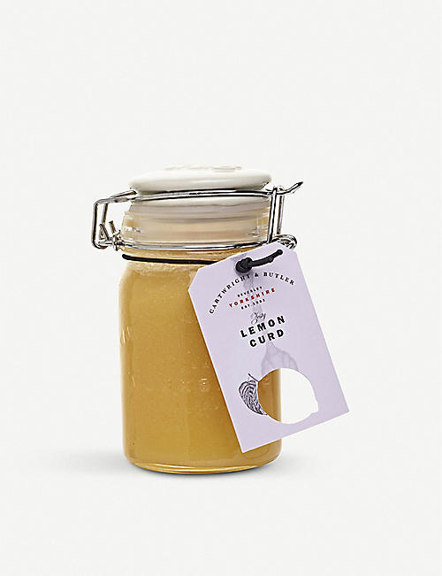 CARTWRIGHT & BUTLER: Lemon curd 290g