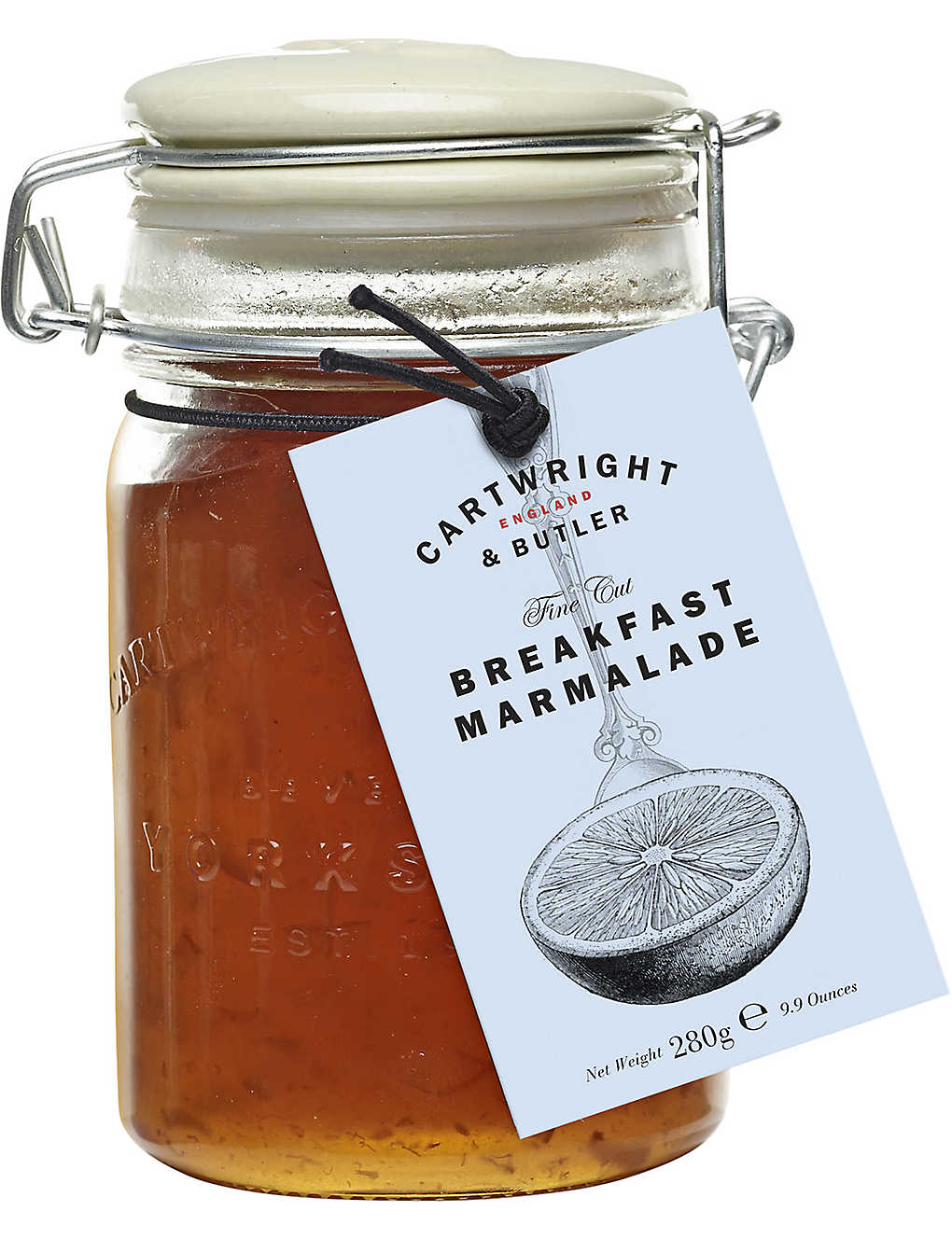 CARTWRIGHT & BUTLER: English breakfast marmalade 280g
