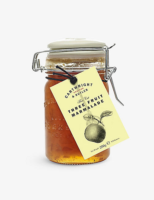 CARTWRIGHT & BUTLER: Three fruit marmalade 280g