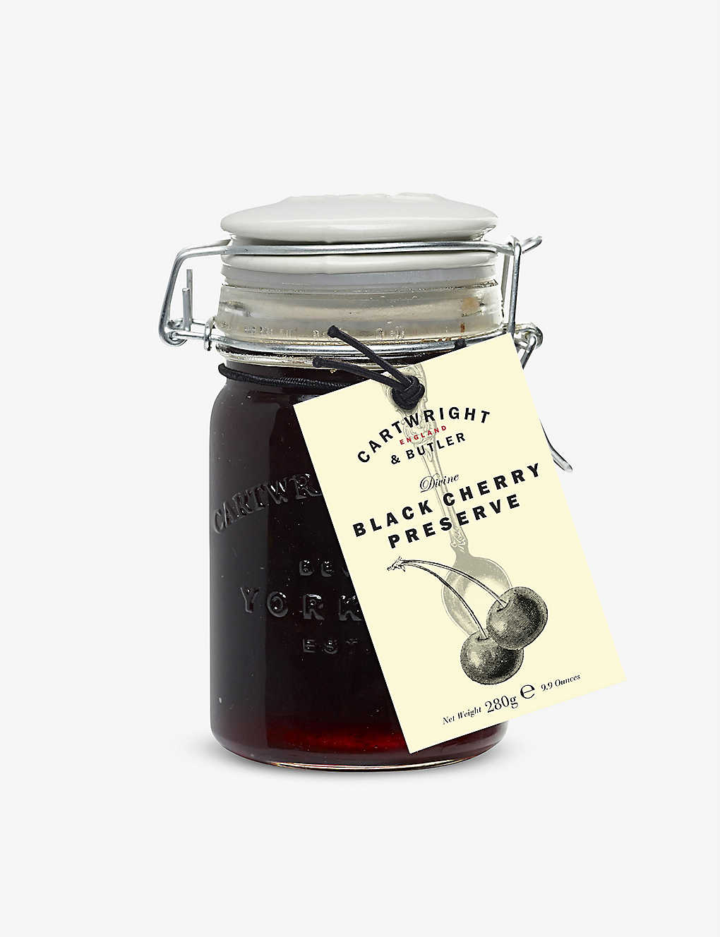 CARTWRIGHT & BUTLER: Black Cherry Preserve 280g