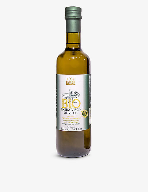 THE OLIVE OIL CO Organic extra virgin olive oil 500ml