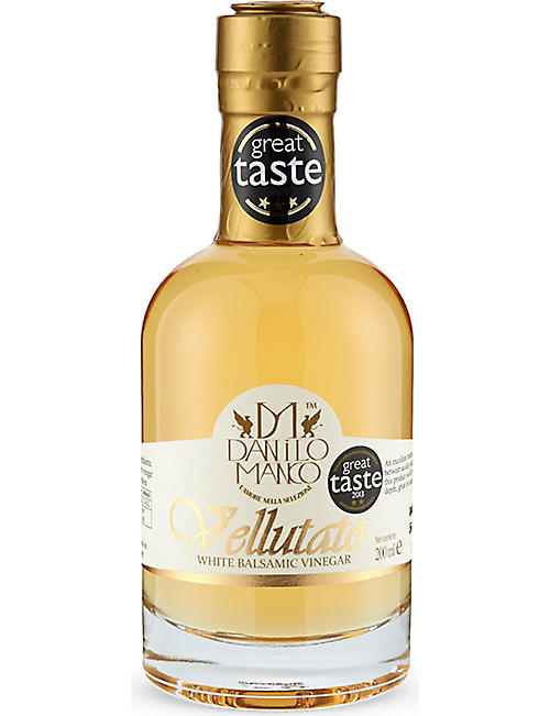 THE OLIVE OIL CO: Vellutato white balsamic vinegar 200ml