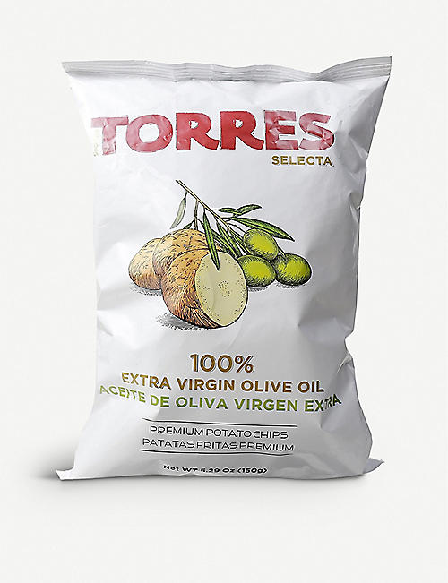 TORRES: Extra virgin olive oil crisps 150g