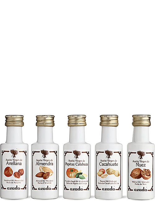 AZADA Set of Virgin Nut oils 5 x 20ml
