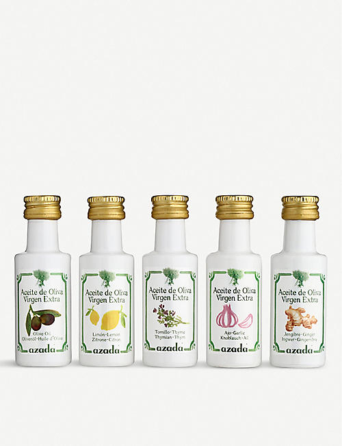 AZADA Flavoured Olive oils set of five