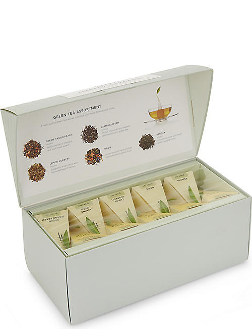 TEA FORTE Classic Collection green tea assortment 56g