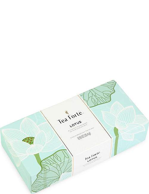 TEA FORTE: Lotus large tin