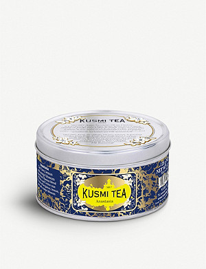 KUSMI TEA Anastasia Earl Grey, Lemon and Orange Blossom loose leaf tea 125g