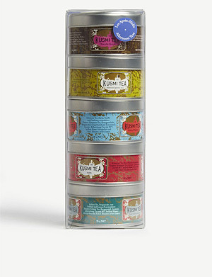 KUSMI TEA Afternoon tea set of five (25g)