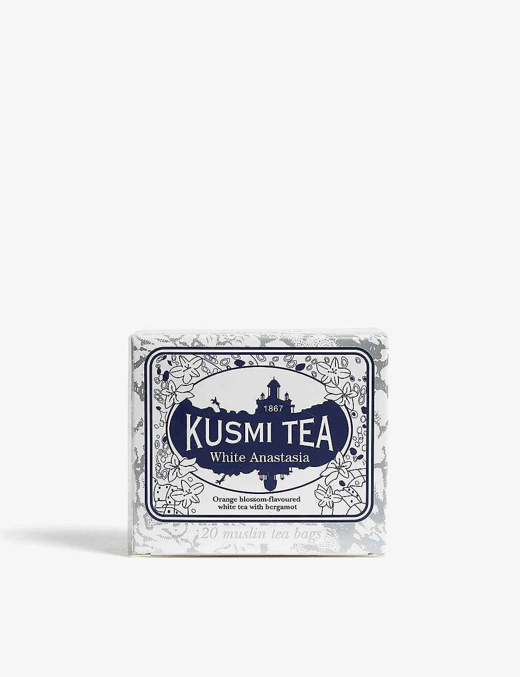 KUSMI TEA: White anastasia tea 40g box of 20