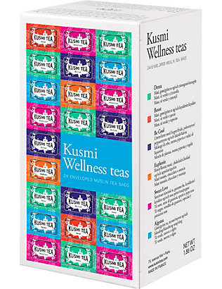 KUSMI TEA: The Wellness tea bags 52.8g
