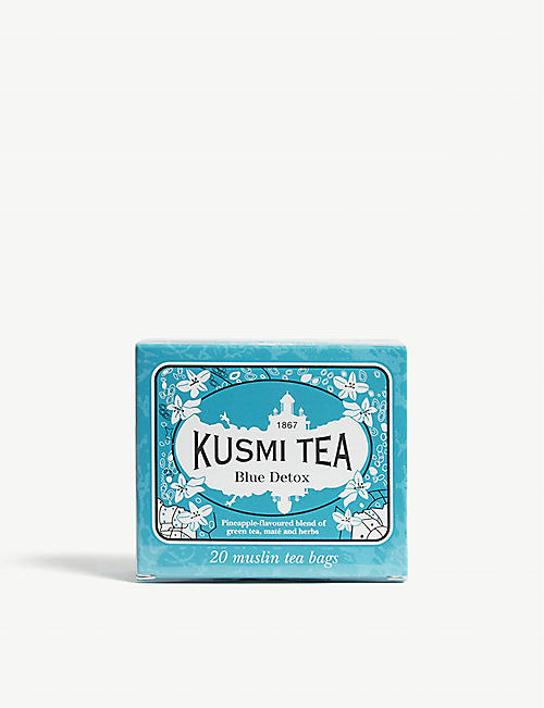 KUSMI TEA: Blue detox tea box of 20