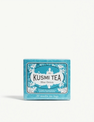 KUSMI TEA Blue detox tea box of 20