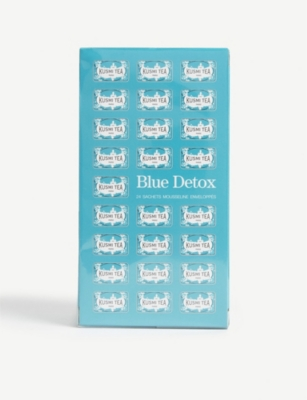 KUSMI TEA Blue detox tea box of 24 tea bags