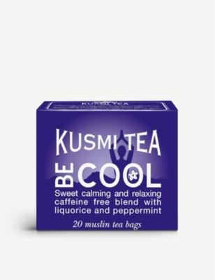 KUSMI TEA Be Cool tea bags box of 20