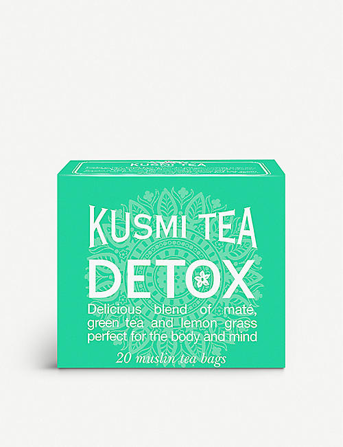 KUSMI TEA: Detox tea bags box of 20