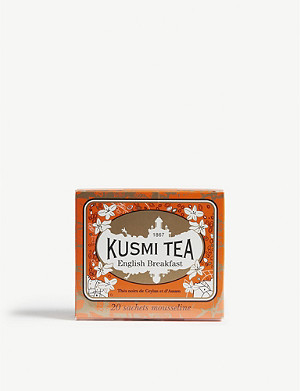KUSMI TEA English breakfast tea box of 20