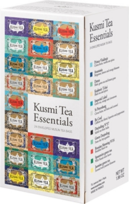KUSMI TEA Tea Essentials gift box 528g box of 12