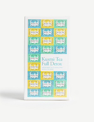 KUSMI TEA Detox assorted tea set of 24
