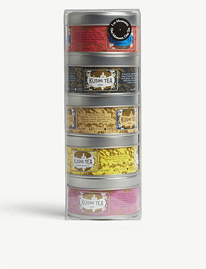 KUSMI TEA One moment, one tea sample set of five (25g)