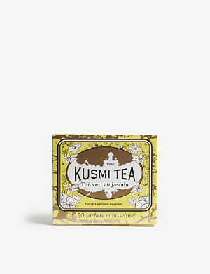 KUSMI TEA Jasmine green tea box of 20