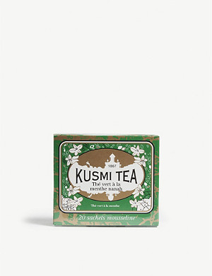 KUSMI TEA Spearmint green tea 20 bags 44g