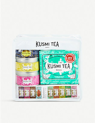 KUSMI TEA: Voyage travel tea gift set